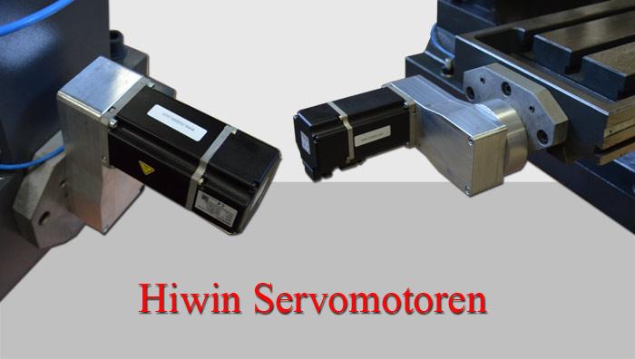 Hiwin Servomotoren an BF 46 Bild
